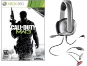 50% off CoD: Modern Warfare 3 w/ Plantronics X40 Headset (Xbox 360)