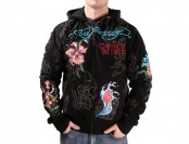 $220 off Ed Hardy Christian Audigier Platinum Tiger Hoodie