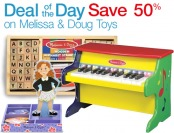50% off select toys from Melissa & Doug (20 items)