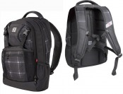 50% off Ful Backpack Laptop Case - Gray Plaid BB5238BPGREYPLAID