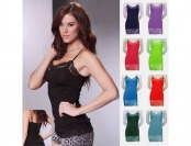 $100 off 8 Pack: Wet Seal Long Lace Camisole, Random Colors
