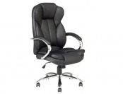 $135 off Black High Back PU Leather Office Computer Chair