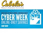 Cabela's Cyber Week Online Savings Event - Save Big