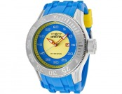 $625 off Invicta Men's Pro Diver Yellow/Blue Polyurethane Watch