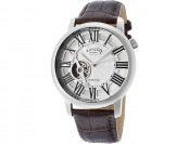 $920 off Rotary Men's Automatic Silver Dial Brown Leather Watch