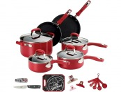 $67 off Guy Fieri 21 Piece Cook Set (red or black)