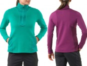 57% off REI Powerflyte Women's Half-Zip Top (3 colors)