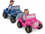Deal: Fisher-Price Power Wheels 6-Volt Jeep, Barbie or Hot Wheels