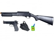 63% off Smith & Wesson On Duty Airsoft Shotgun & Pistol Kit