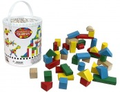45% off Imagination Toys Wooden Blocks - Wood Building Block Set
