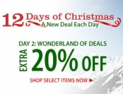 Wonderland of Deals: Extra 20% Off on 3,614 items