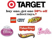 Buy One, Get One 50% off on Select Toys