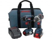 $363 off Bosch 18-Volt Lithium-Ion Combo Kit (2-Tool) CLPK243-181