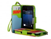$8 off Wallet Case for iPhone 4/4s, 5/5s, or 5c, Multiple Styles
