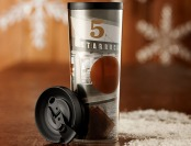 Free Starbucks Brewed Coffee All January with this 16oz Tumbler