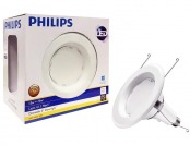 50% off Philips 75W Equiv Soft White Recessed LED Flood Light