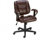 $50 off Staples Telford Luxura Task Chair, Brown