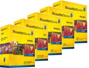 52% off Rosetta Stone Level 1-5 Sets, Lowest Price of the Year!