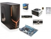 $145 off Intel Core i5 Quad Core Barebones PC Desktop Kit