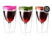 $13 off Vino-2-Go Wine Glass 2-Pack, Multiple Colors Available