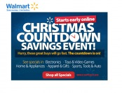 Save Big During the Walmart Christmas Savings Event