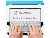 65% off Revolutionary Touchfire Screen-Top Keyboard for iPad