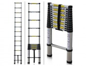 $100 off EN131 12.5Ft Aluminum Telescoping Extend Ladder