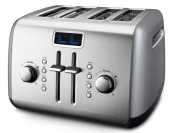 $60 off KitchenAid KMT422CU Contour Silver 4 Slice Toaster