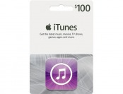 $15 off Apple $100 iTunes Gift Card