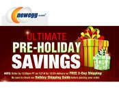 Newegg Ultimate Pre-Holiday Savings Event - Tons of Great Deals