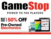 Buy 1, Get 1 50% off All Pre-Owned Electronics at GameStop