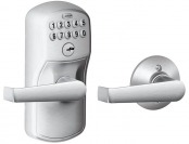 $131 off Schlage Plymouth Keypad Entry Auto-Lock and Elan Levers