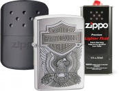Extra $10 off $50 Zippo Purchase - Lighters, Lighter Fluid, Flints...
