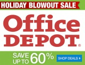 Holiday Blowout Sale - Up to 60% off technology, office supplies...