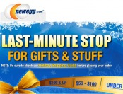 Newegg Last Minutes Deals - Great Gift Ideas & Other Stuff
