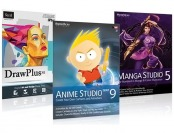 $230 off Anime Studio Debut, Manga Studio & DrawPlus PC/Mac