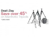 Save Over 45% on Select Manfrotto Tripods