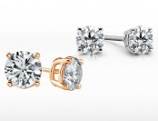 $3,501 off 14K 1.5 Cttw Certified Diamond Stud Earrings