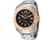 $635 off Swiss Legend Men's Commander Stainless Steel Watch