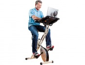 $151 off FitDesk FDX 2.0 Desk Exercise Bike with Massage Bar