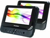"28% off Sylvania SDVD8739 7"" Dual Widescreen Portable DVD Player"