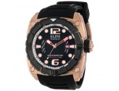 87% off Elini Barokas 10014-RG-01-BB Commander Swiss Watch