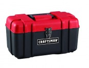 "74% off Craftsman 17"" Plastic Hand Tool Box"