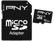 67% off PNY 16GB microSDHC Class 10 Memory Card