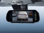 "69% off 7"" Widescreen Car Rearview Monitor Mirror"