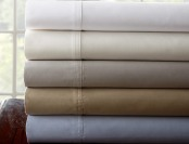 67% 1,000-TC 100% Egyptian-Cotton Sheet Sets, 5 Colors