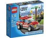57% off LEGO City Fire Chief Car #60001