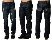 75% off Ravmen Men's Denim Jeans - 3 Styles & 5 Colors