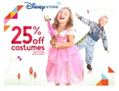 25% off Select Kids Costumes at the Disney Store