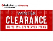 Rakuten Winter Clearance Sale - Up to 75% Off Winter Items